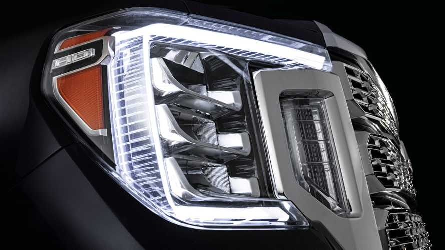 New gmc sierra hd news articles and press releases Gmc Hints At Face Of 2020 Sierra Exterior