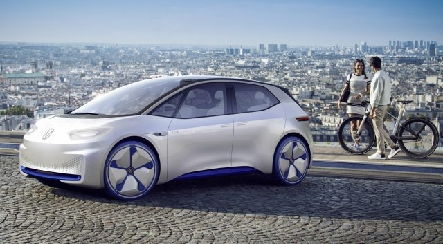 New meet the vw id electric car 300 plus mile range in 2020 Volkswagen Id Family 2020 Price and Review