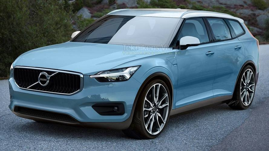 New volvo v40 render will make you fall in love with wagons Volvo New V40 2020 Performance