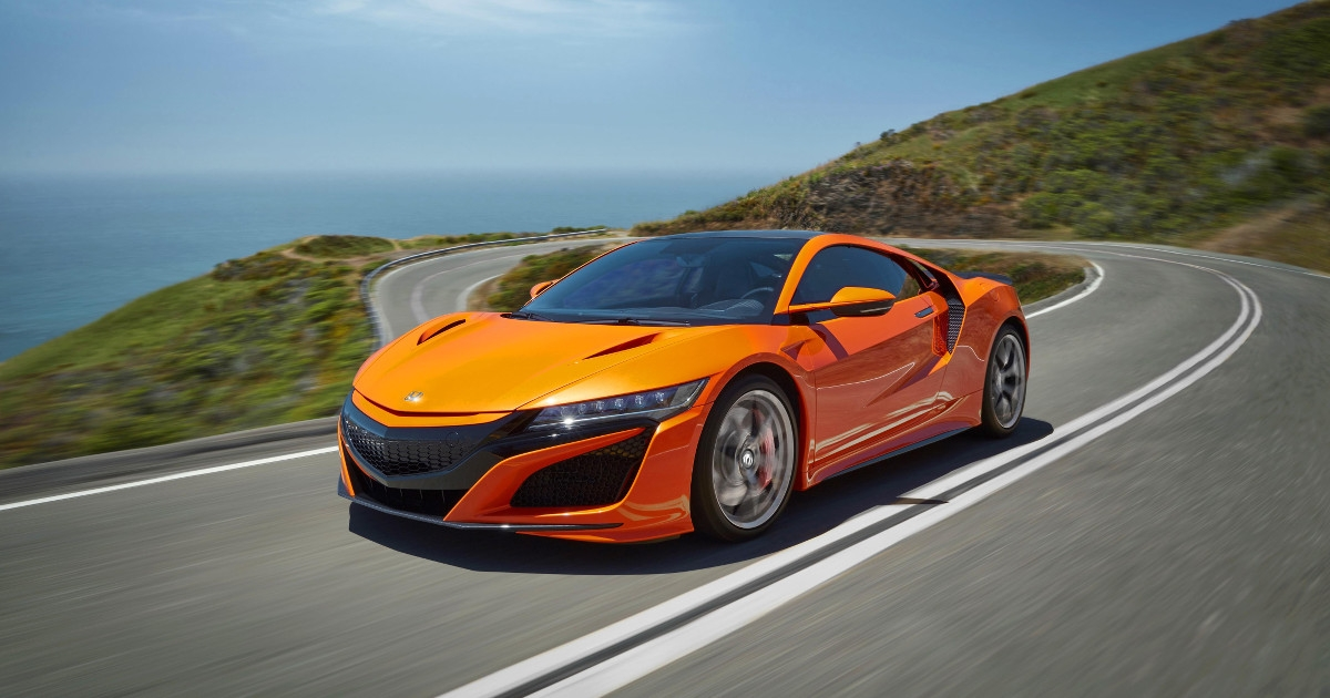 Newest 2019 honda nsx debuts with orange paint job and chassis updates Honda Nsx 2020 Price Philippines Overview