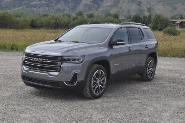 Newest 2020 gmc acadia first drive another at4 joins the lineup 2020 Gmc Acadia Denali Review Exterior
