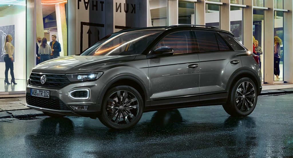 Newest 2020 vw t roc black edition brings a more stylish package Volkswagen T Roc 2020 Engine