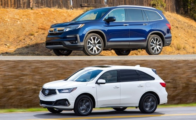 Newest honda pilot vs acura mdx which suv is right for you Honda Pilot Vs Acura Mdx 2020 Reviews