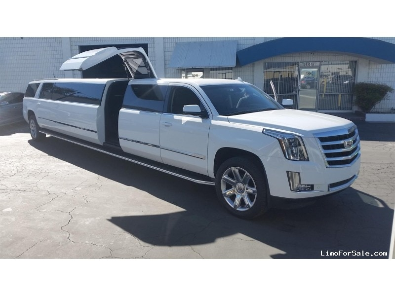 Newest new 2019 cadillac escalade esv suv stretch limo pinnacle limousine manufacturing hacienda heights california 119000 2020 Cadillac Limousine For Sale Research New