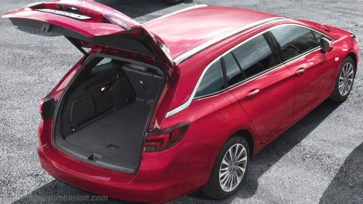 opel astra sports tourer dimensions and boot space new Opel Astra Station Wagon 2020 Reviews