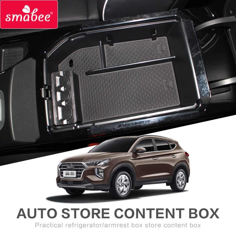 smabee for hyundai tucson 2018 2019 2020 armrest box storage 2020 Hyundai Tucson Accessories Redesigns