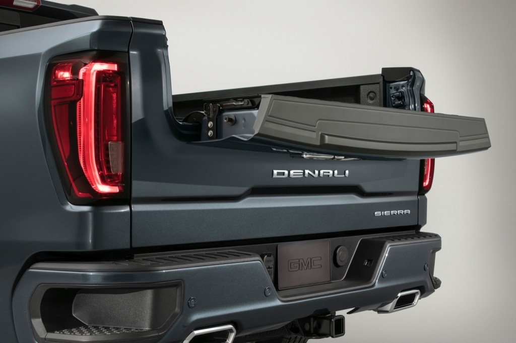 wider availability for multipro tailgate on 2021 gmc sierra 2020 Gmc Multipro Tailgate Cost Exterior