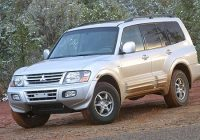 2005 mitsubishi montero review ratings edmunds Mitsubishi Montero Limited