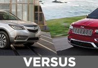 2021 acura mdx vs 2021 jeep grand cherokee continental acura Acura Rdx Vs Jeep Cherokee
