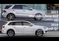 2021 mercedes benz gle vs 2021 audi q7 technical comparison Mercedes Gle Vs Audi Q7
