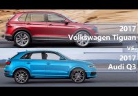 2021 volkswagen tiguan vs 2021 audi q3 technical comparison Volkswagen Tiguan Vs Audi Q3