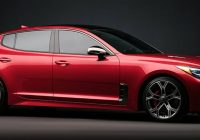 2021 kia stinger release date and new features Kia Stinger Release Date