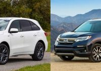 2021 acura mdx vs 2021 honda pilot whats the difference Honda Pilot Vs Acura Mdx