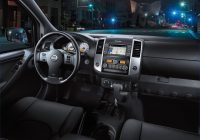 2020 nissan frontier 58 interior photos us news world Nissan Frontier Interior