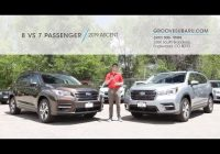 2021 subaru ascent 8 vs 7 passenger which one is right for you Subaru Ascent Vs Audi Q7