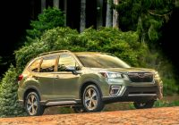 2021 subaru forester sport review update crossover plays Subaru Forester Sport Review