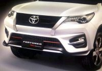 2021 toyota fortuner trd sportivo suv debuts india launch Upcoming Toyota Fortuner