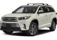 2021 toyota highlander trim levels configurations cars Toyota Highlander Configurations