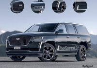 2021 cadillac escalade top speed Cadillac Escalade New Body Style
