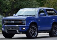 2021 ford bronco everything we know about fords new suv Ford Bronco Release Date