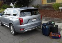 2021 hyundai palisade luggage test how much fits in the Hyundai Palisade Length
