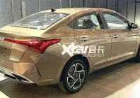2021 hyundai verna facelift exteriors revealed new golden Hyundai Verna Facelift