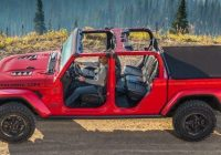 2021 jeep gladiator specs towing performance dimensions Gas Mileage For Jeep Gladiator