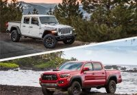 2021 jeep gladiator vs 2021 toyota tacoma which is best Jeep Gladiator Vs Toyota Tacoma
