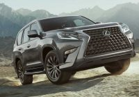2021 lexus gx revealed with updated styling off road package Lexus Gx Body Style Change