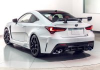 2021 lexus rc f and track edition quick drive get the Lexus Rc F Track Edition