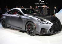 2021 lexus rc f track edition debuts in detroit update Lexus Rc F Track Edition Specs