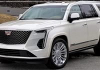 2021 cadillac escalade rendered with ct6 front xt6 rear Release Date For Cadillac Escalade