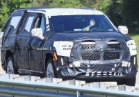 2021 cadillac escalade reveals massive grille in new spy photos Cadillac Escalade Reveal