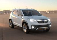 95 concept of next generation subaru forester 2021 new Subaru Forester Concept
