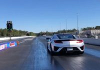 acura nsx drag races 700 hp corvette sets 14 mile world Acura Nsx Quarter Mile