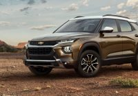 all new chevrolet trailblazer suv brings style safety and Chevrolet New Vehicles
