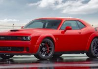 Amazing the 2020 dodge challenger bears some changes 2020 Dodge Hellcat Horsepower Price