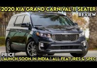Best 2021 kia grand carnival with 11 seats launched in malaysia 2021 Kia Grand Carnival Review Wallpaper