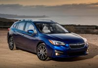 Best 2020 subaru impreza hatchback review trims specs price 2020 Subaru Impreza Hatchback Review New Model and Performance