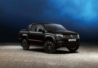 Best 2021 volkswagen amarok black edition news and information Volkswagen Amarok V6 2021 Exterior and Interior