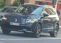 Best facelifted 2021 vw tiguan spied free of any camouflage Volkswagen Tiguan Facelift 2021 New Model and Performance