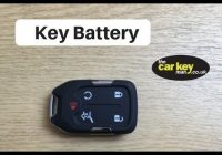 Best gmc acadia key battery change how to 2017 keyless 2020 Gmc Key Fob Battery Replacement Engine