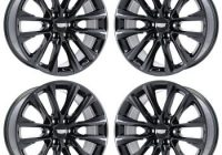 cadillac escalade wheel rim pvd black chrome hol4804 black pvd Cadillac Escalade Wheels