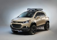 chevrolet trax activ concept is ready for adventure All New Chevrolet Trax