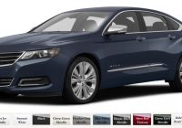choosing a color for your 2020 chevy impala jay hodge Chevrolet Impala Colors