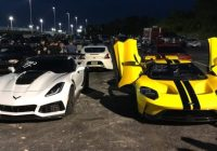 corvette zr1 vs ford gt in all american drag race Corvette Zr1 Vs Ford Gt