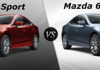 difference between the mazda 6 sport and mazda 6 touring Mazda Touring Vs Grand Touring