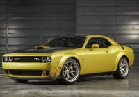 dodge announces limited production challenger 50th Dodge Challenger 50th Anniversary