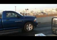 ecoboost f150 vs 57l hemi dodge ram quarter mile run Dodge Ram Quarter Mile