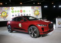 electric jaguar wins car of the year in europe Jaguar I Pace Car Of The Year